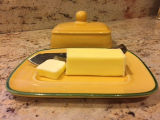 Saturated fat: butter