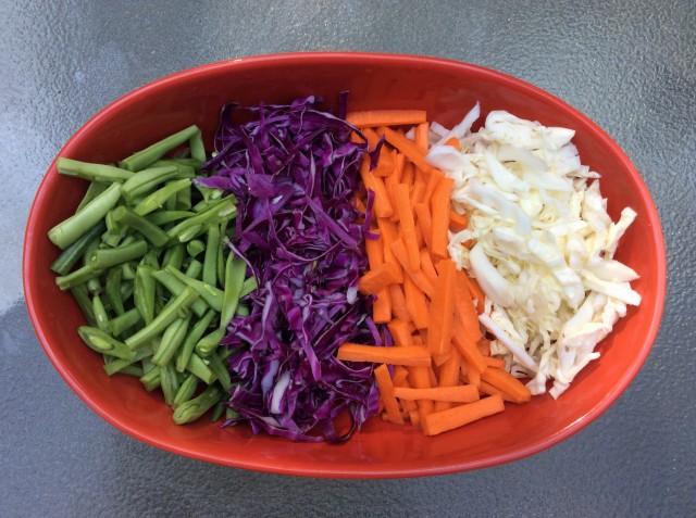 Burst of antioxidants: beta carotene, anthocyanins, Vitamin C and lutein to name just a few.