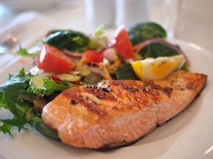 Wild salmon: potent source of anti-inflammatory omega-3s. Copyright © 2015 Sangeeta Pradhan