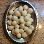 Divide dough into approximately 30-33 rounded balls. © Copyright Sept 2015, Sangeeta Pradhan RD, LDN, CDE