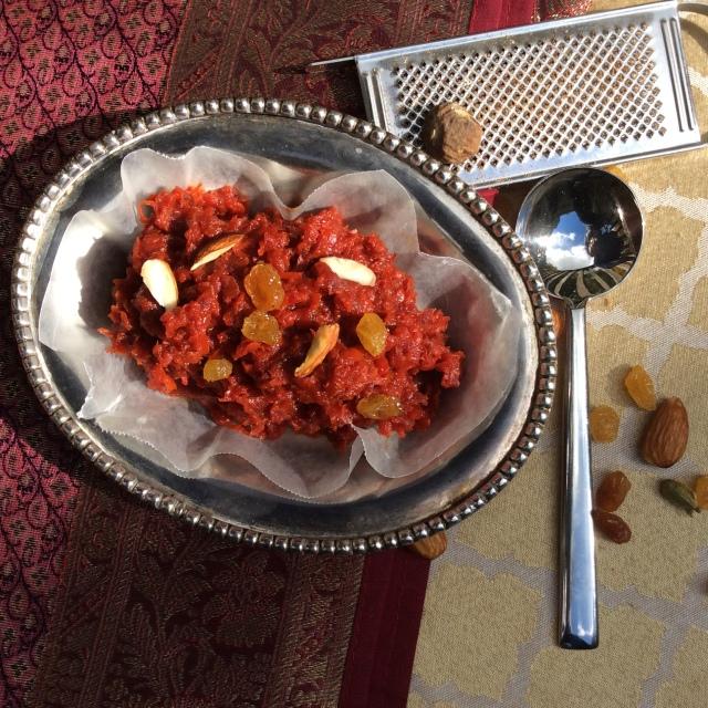 Carrot-pumpkin-beetroot pudding. © Copyright, Sangeeta Pradhan, RD, LDN, CDE October, 2015