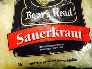 Commercial suaerkraut may not contain live cultures due to pasteurization. © Copyright, Sangeeta Pradhan, Dec 2015.